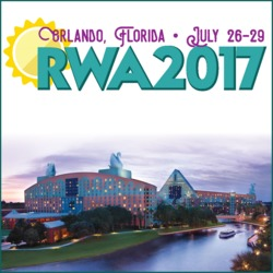 Indie author at RWA National Conference 2017